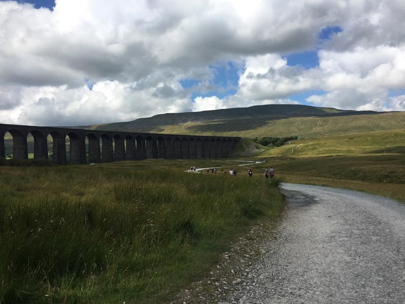 Ribblehead Viaduct.