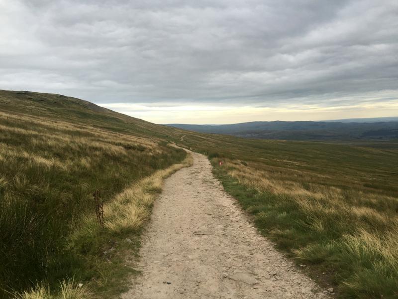 Yorkshire 3 Peaks - Descending Ingleborough
