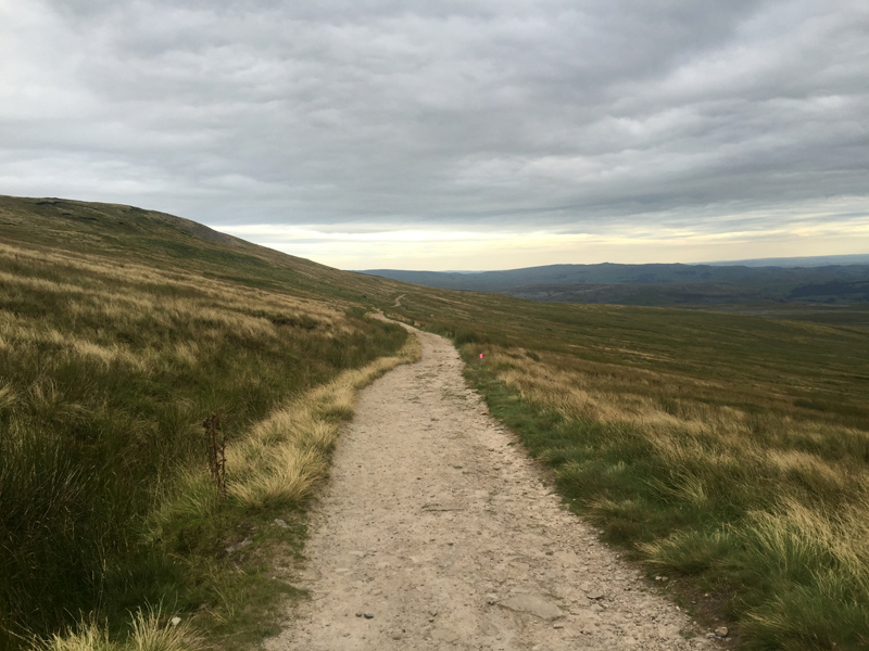 Yorkshire 3 Peaks - Descending Ingleborough