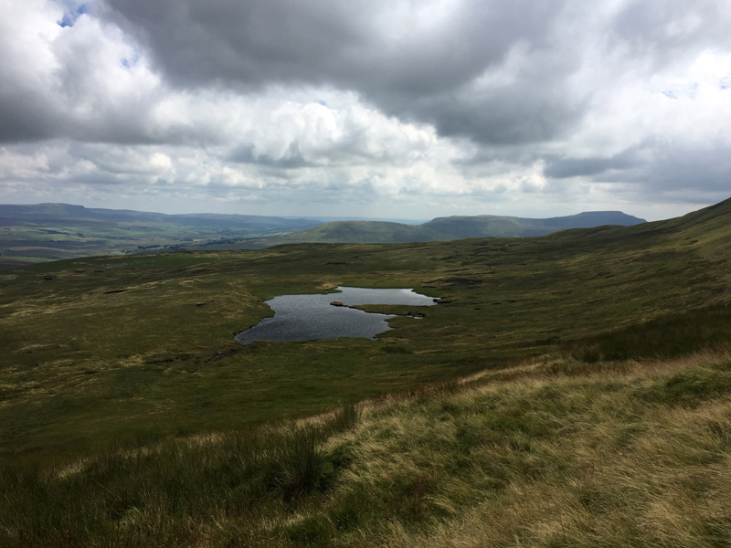 Yorkshire 3 Peaks - View from Whernside