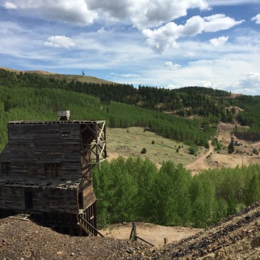 Inside the Mollie Kathleen Gold Mine