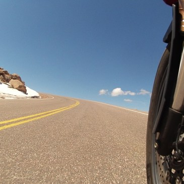 ON TOP OF THE WORLD AT THE SUMMIT OF PIKE'S PEAK