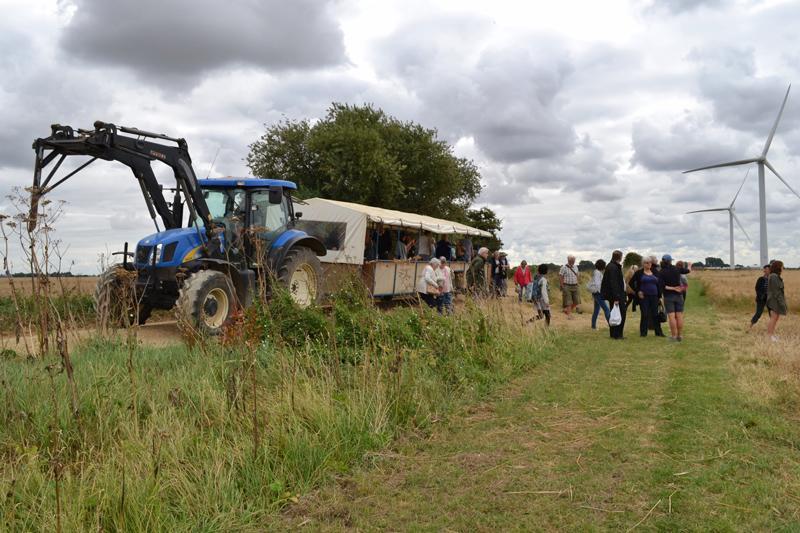 Farm Walk at Vine House Farm, Lincolnshire - Tractor