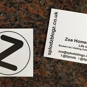 Feeling Like a Real Blogger. Some New Business Cards.