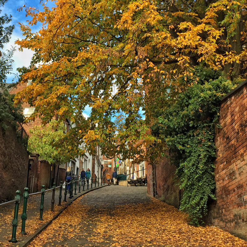 One Hour Outside - Steep Hill, Lincoln
