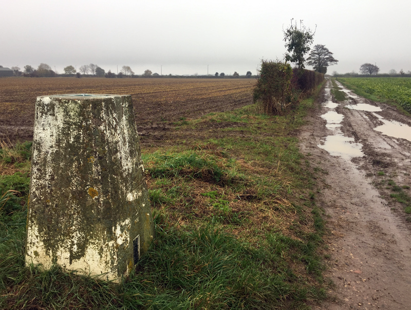 One Hour Outside - Local Trig Point in the Rain