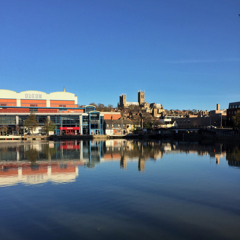 One Hour Outside - Lincoln Brayford Pool in the Sun