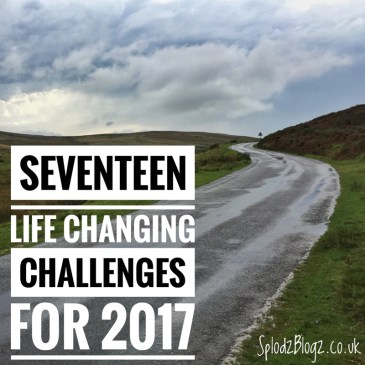 SEVENTEEN LIFE CHANGING CHALLENGES FOR 2017 (PART ONE)