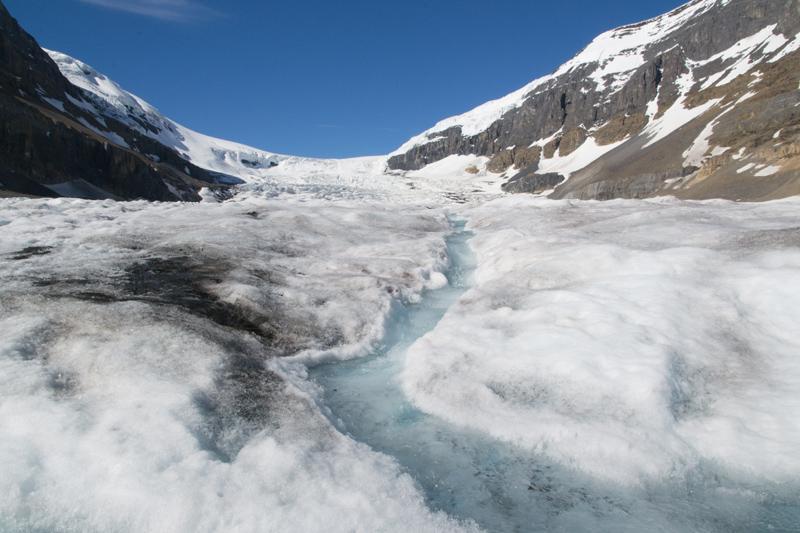 WALKING ON A GLACIER: COLUMBIA ICEFIELD GLACIER ADVENTURE