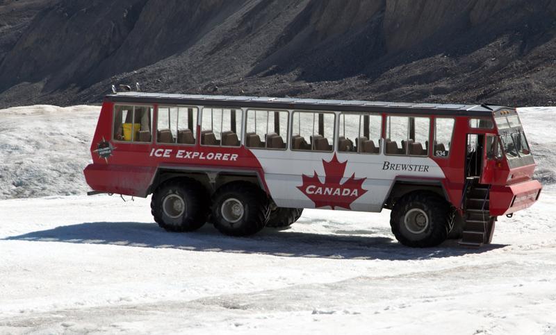 Zartusacan - Glacier Aventure Athabasca Glacier Ice Vehicle