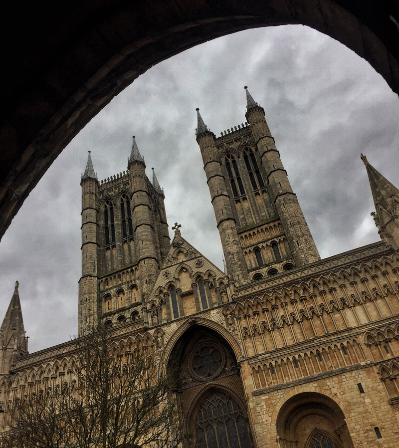 Lincoln Cathedral and a Moody Sky, Splodz Blogz