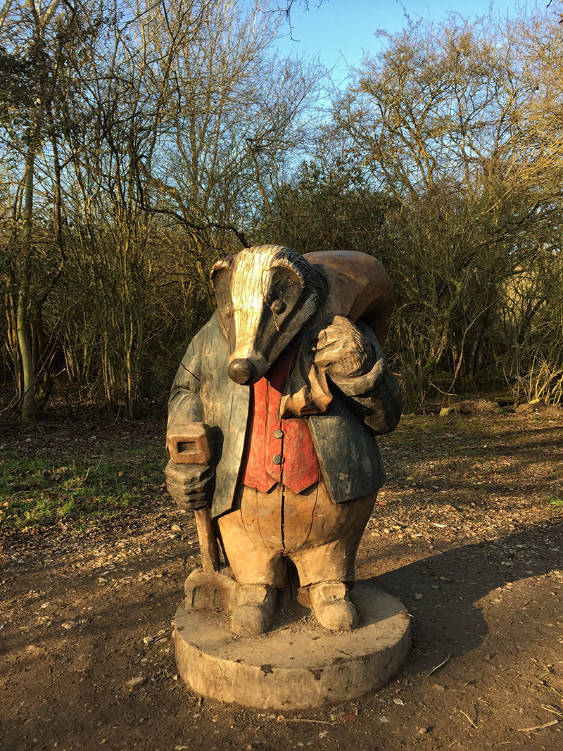 Peter Rabbit Woodland Trail, Langdon Nature Reserve | Splodz Blogz