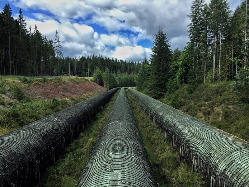 Splodz Blogz Zartusacan, Vancouver Island, Hydroplant Pipes