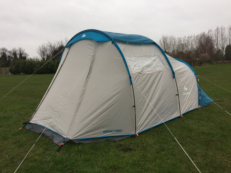 Splodz Blogz | Camping Weekend with VARTA - New Tent
