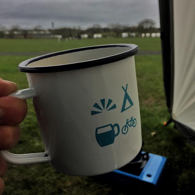 Splodz Blogz | Camping Weekend with VARTA - Morning Cuppa