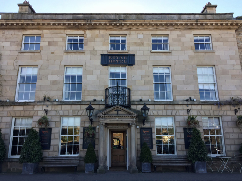 A NIGHT IN THE ROYAL HOTEL, KIRKBY LONSDALE