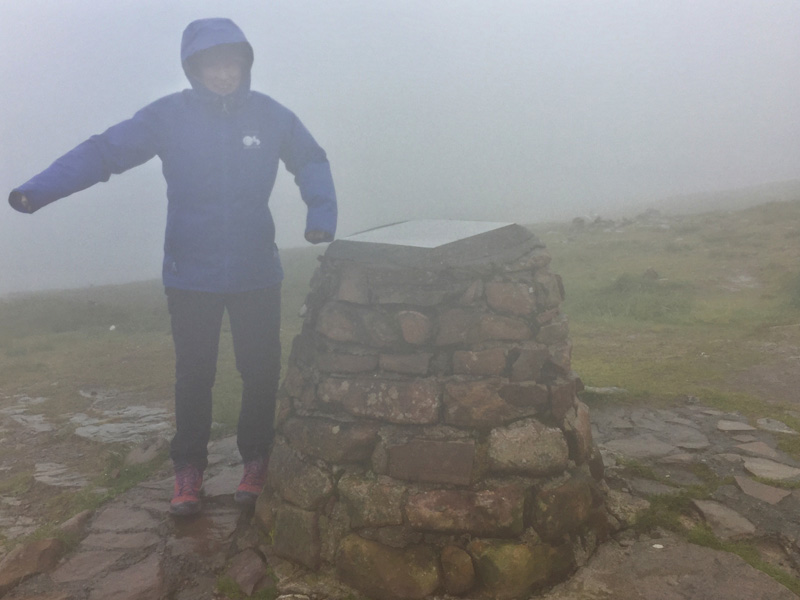 Splodz Blogz | At Bealach na Ba Summit - in the Rain