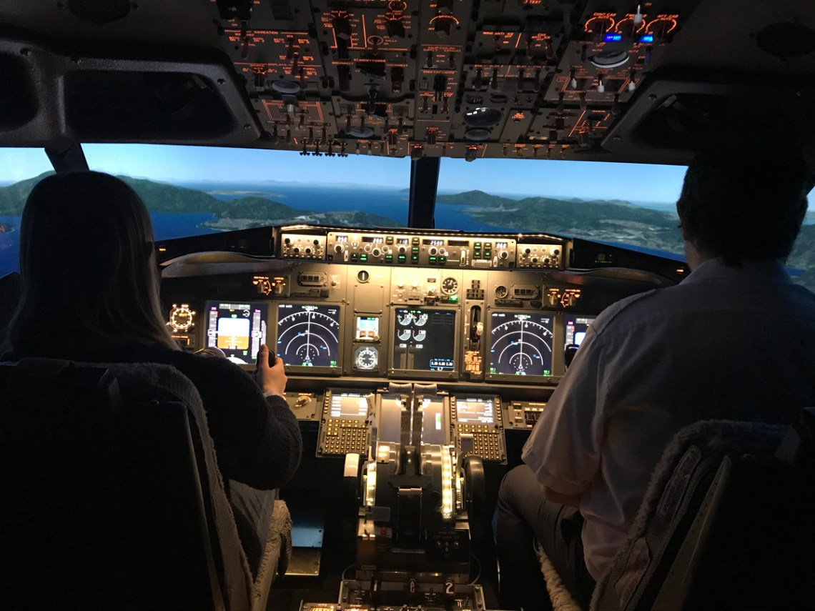 Splodz Blogz | Flight Deck Reality, Flight Simulator