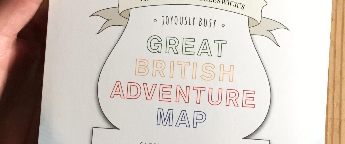 Splodz Blogz   Great British Adventure Map