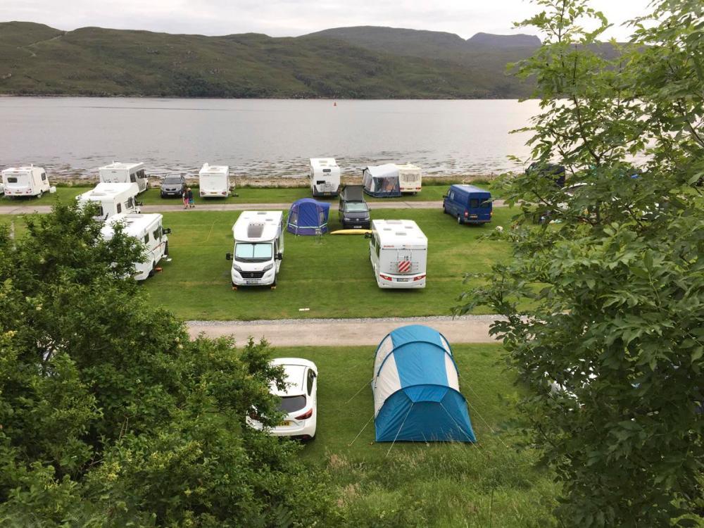 Splodz Blogz | NC500 | Tent at Ullapool