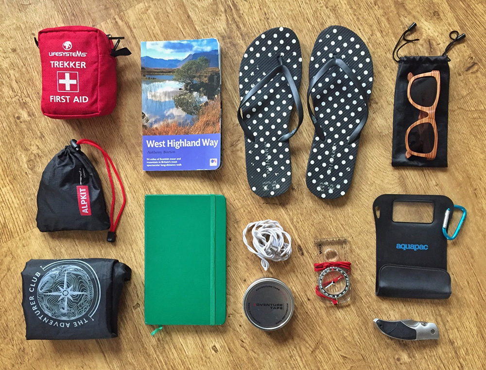 Splodz Blogz   West Highland Way Kit