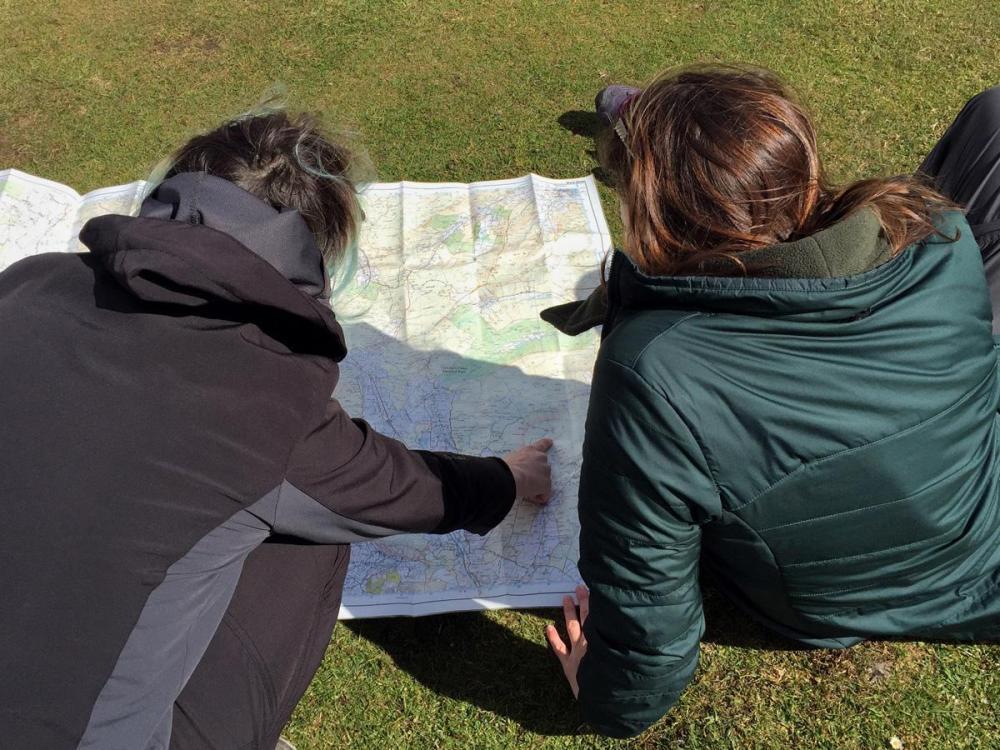 Splodz Blogz   Map Reading at Hull Pot