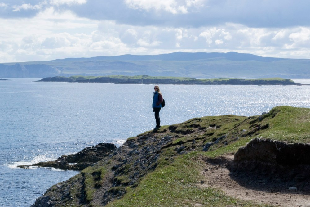 Splodz Blogz | NC500 | Looking out to Sea