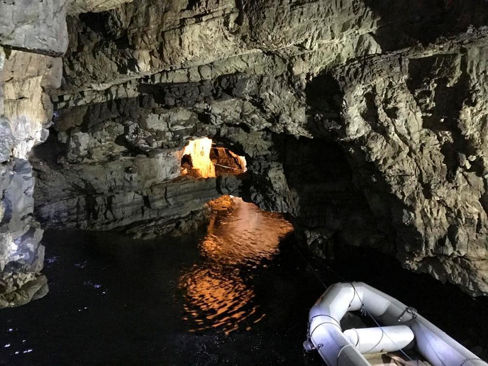 Splodz Blogz | NC500 | Smoo Cave