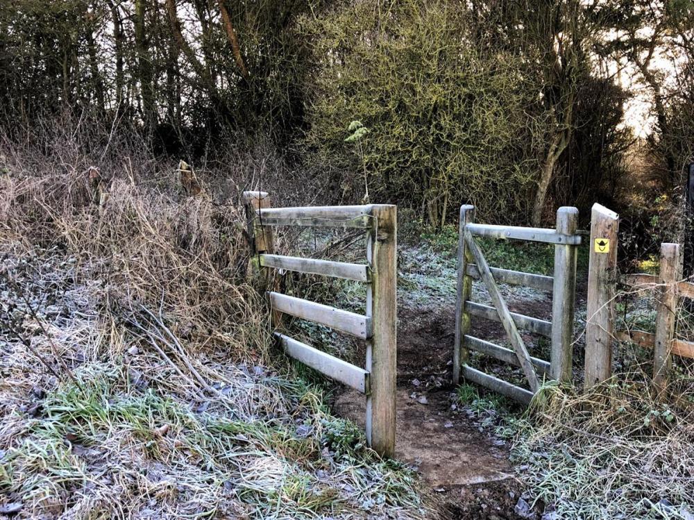 Splodz Blogz | Frozen Gate on the Viking Way