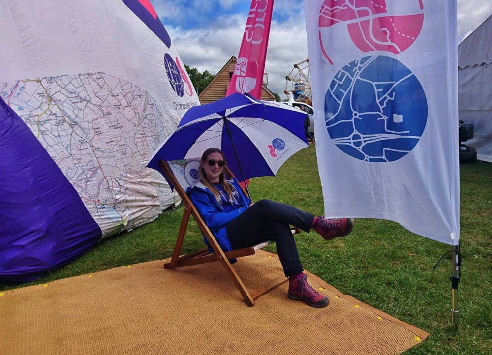 Splodz Blogz | Countryfile Live - Working with Ordnance Survey