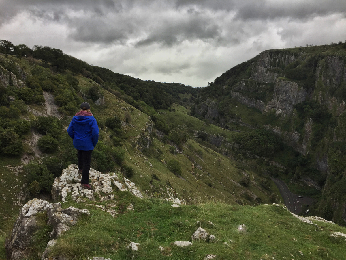 HIKING CHEDDAR GORGE