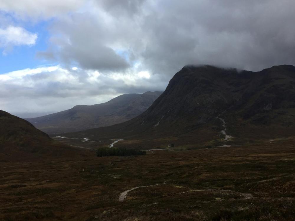 Splodz Blogz   West Highland Way - Buachaille Etive Moor