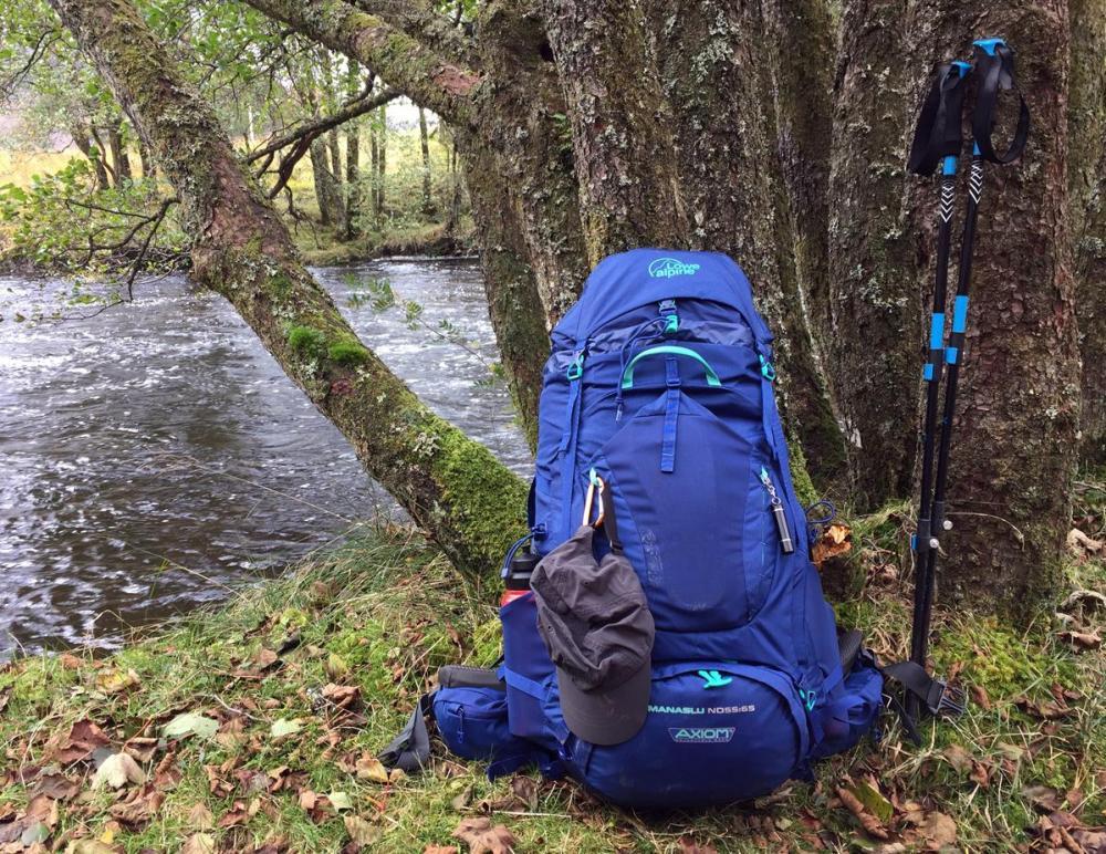 Splodz Blogz | Lowe Alpine Manaslu on the West Highland Way