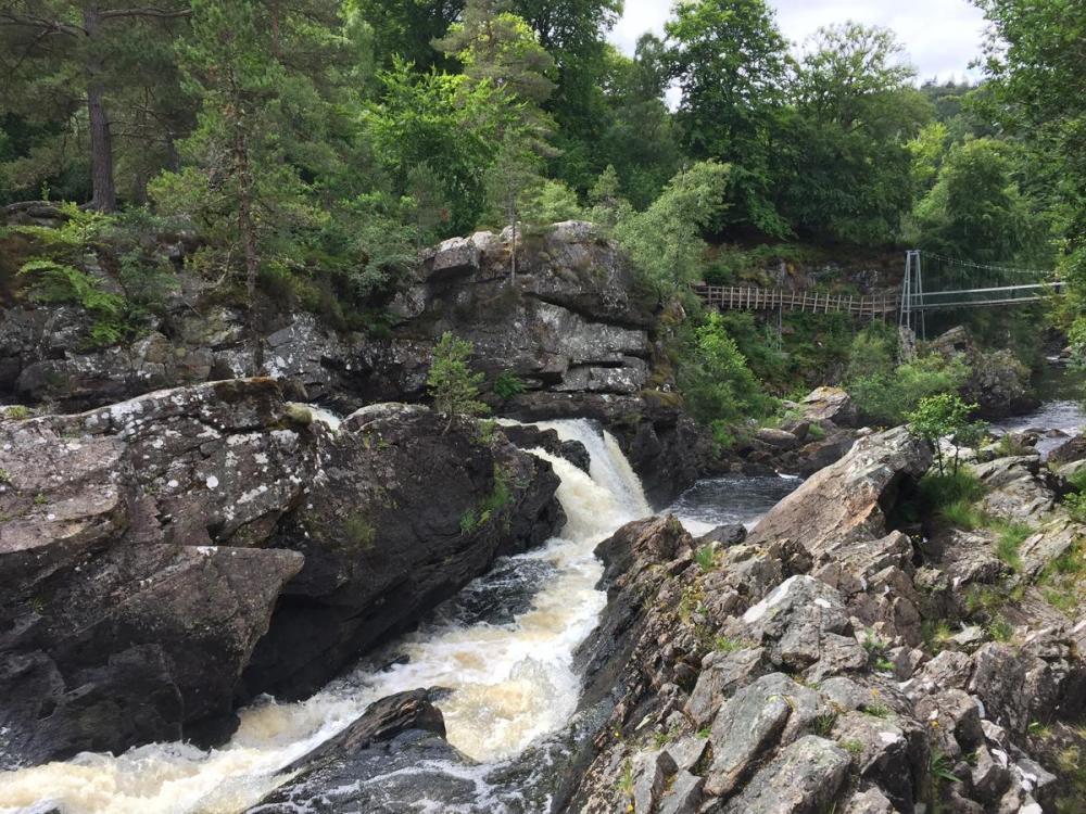 Splodz Blogz   NC500   Rogie Falls