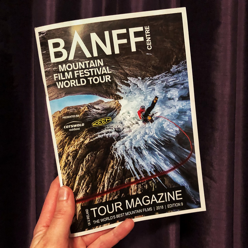 Splodz Blogz | Banff Mountain Film Festival World Tour