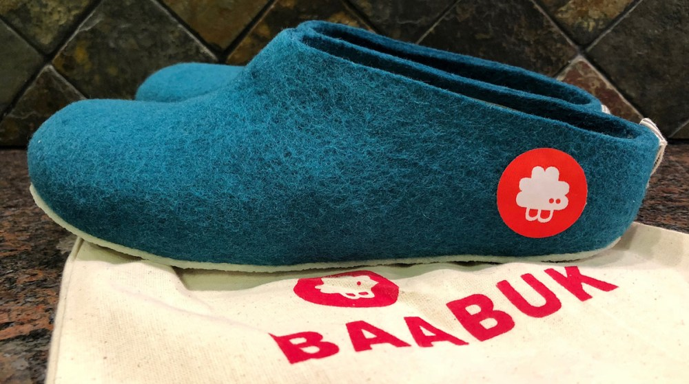 Splodz Blogz | Gus Slippers by Baabuk