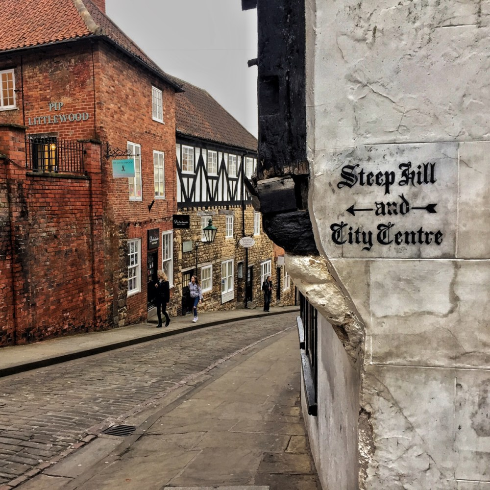 Splodz Blogz | 24 Hours in Lincoln - Steep Hill