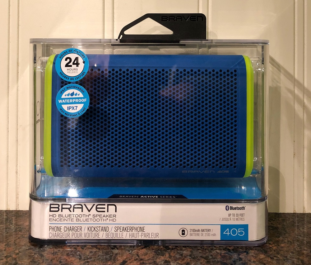 Braven 405 Waterproof Speaker | Splodz Blogz