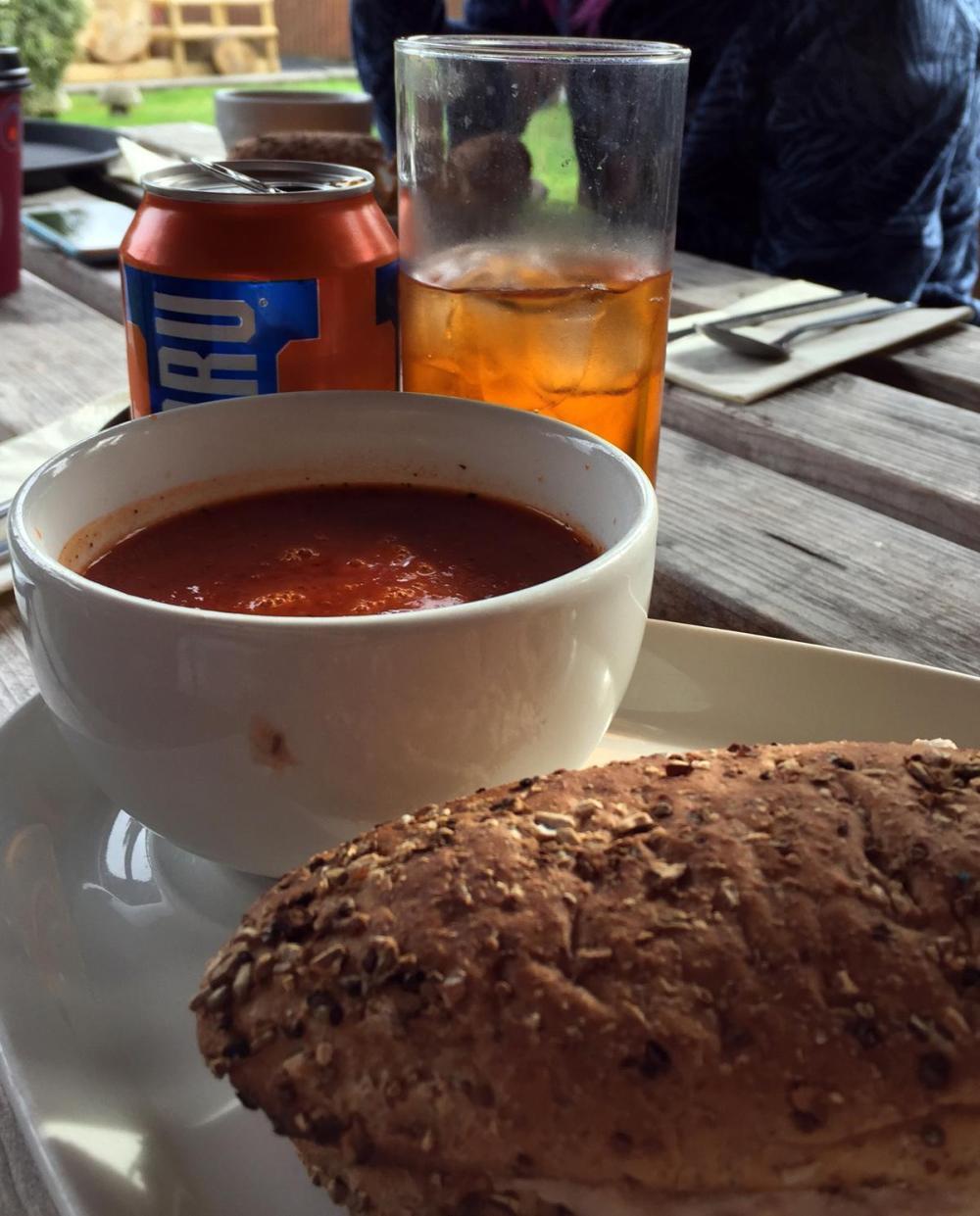 Splodz Blogz | Soup and a Sandwich at the Beech Tree Inn