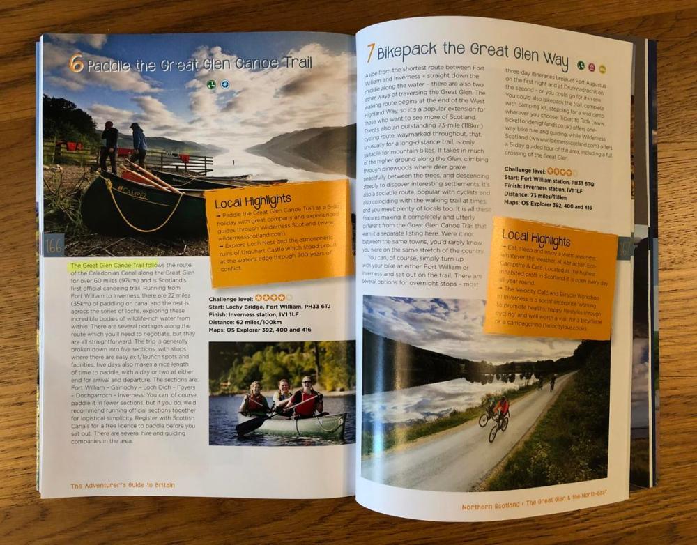 Splodz Blogz | The Adventurer's Guide to Britain, Jen and Sim Benson