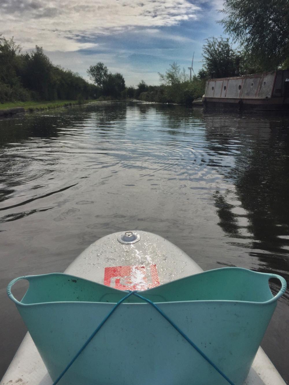 Splodz Blogz | Plastic Patrol SUP litter pick in Nottingham