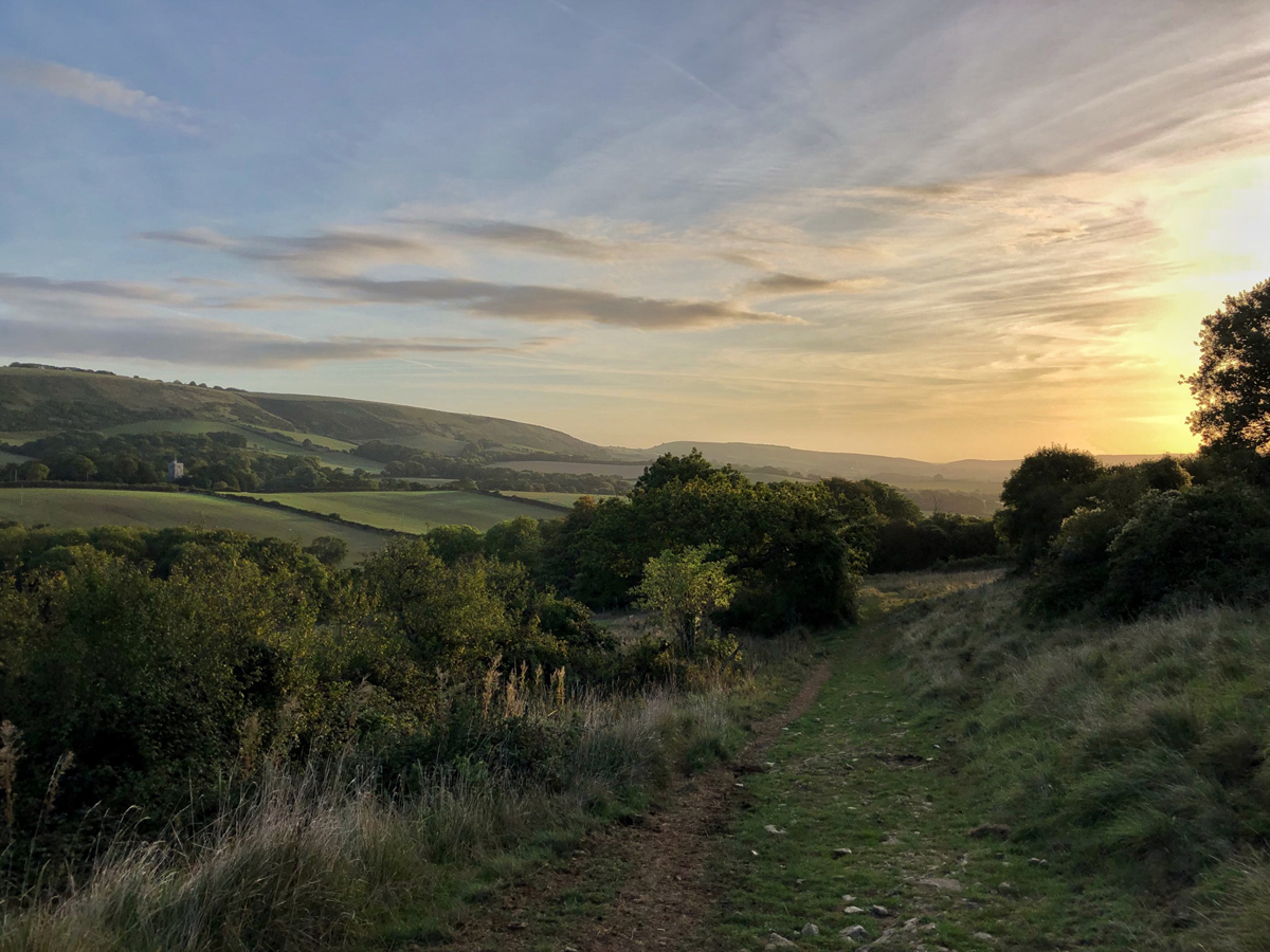 Splodz Blogz | Wilderness Weekends - Sunrise over Steeple