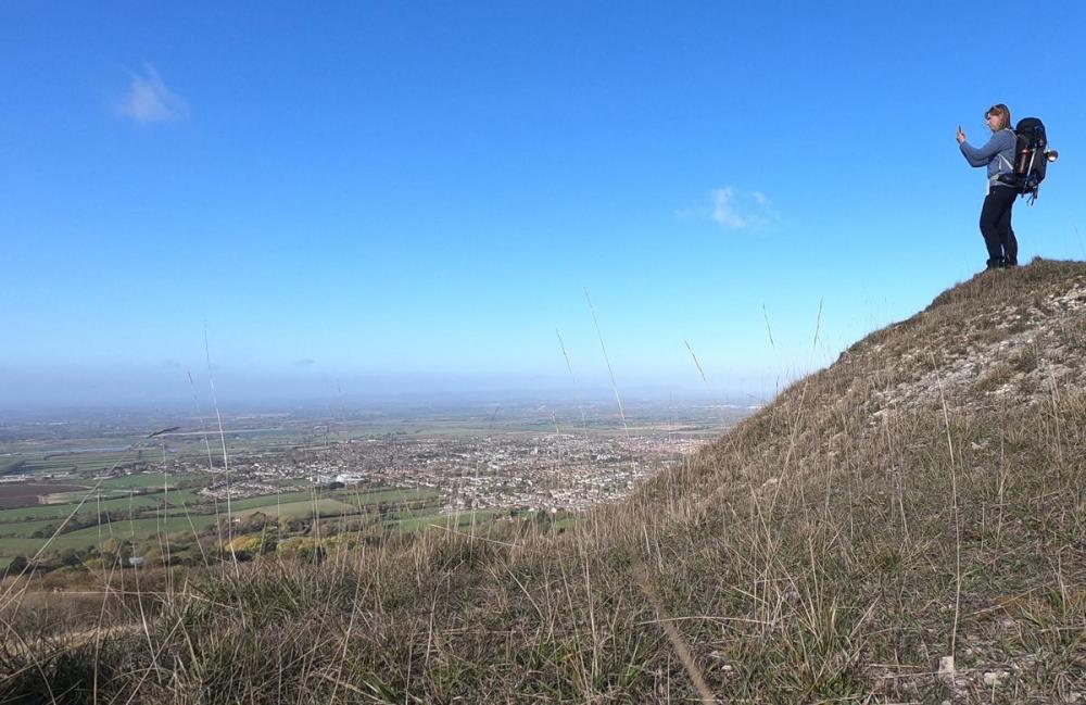 Splodz Blogz   On Cleeve Hill
