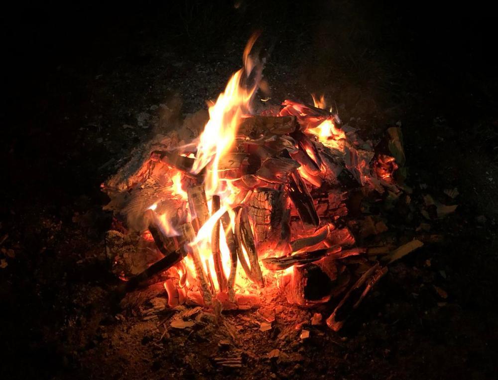 Splodz Blogz | GetOutside Activity Challenge - Campfire