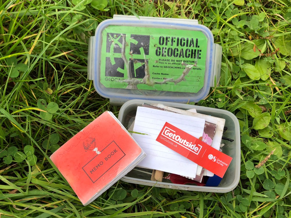 Splodz Blogz | GetOutside Activity Challenge - Geocaching