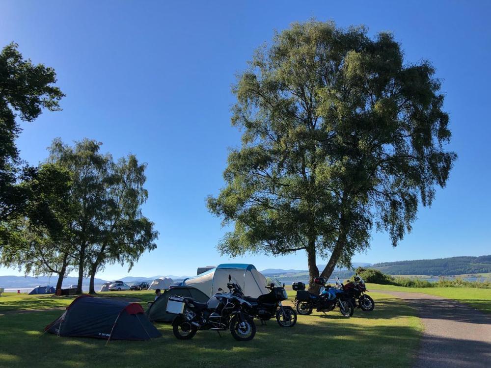 Splodz Blogz   NC500 - Bunchrew Campsite, Inverness