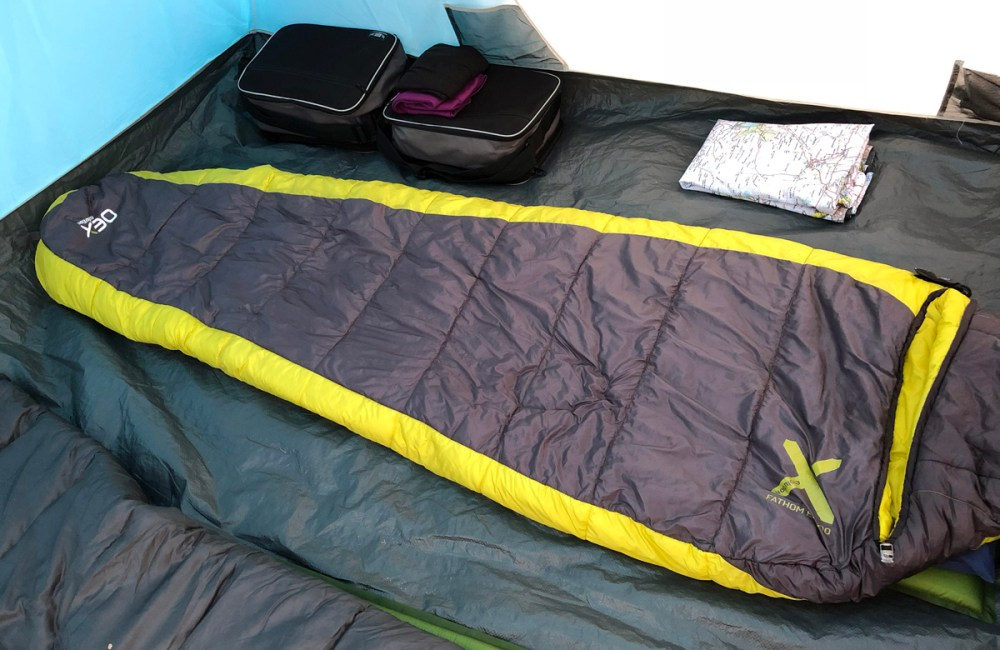 Splodz Blogz | OEX Fathom Sleeping Bag