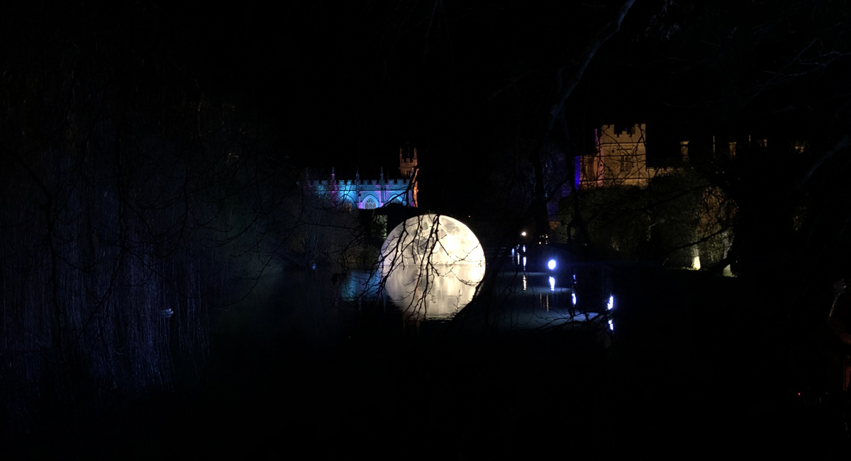 SPECTACLE OF LIGHT AT SUDELEY CASTLE
