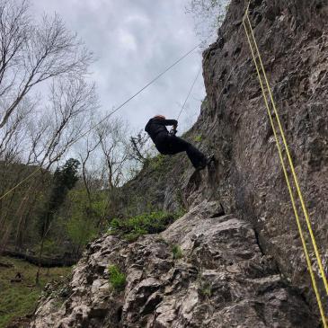 CLIMBING UP CHEDDAR GORGE