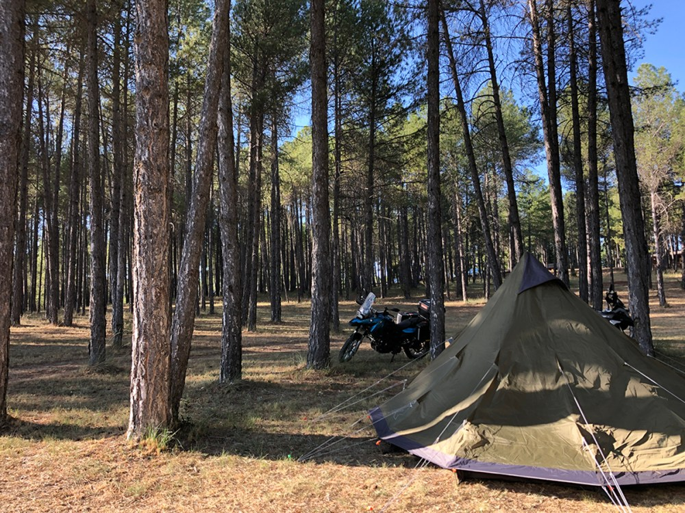 Splodz Blogz | Camping in Spain